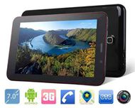Newest 7 inch MTk8312 Dual Core 1.3Ghz 512MB/4GB Cheapest Tablet Pc 3G Dual Sim