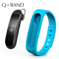 OLED Watch Smart Wristband Bluetooth Headset Pedometer